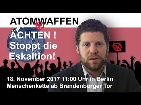 Atomwaffen ächten! Menschenkette am 18. November in Berlin