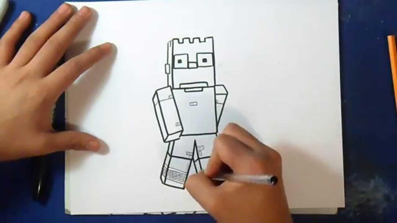 Comment dessiner bart simpson minecraft les simpsons youtube - Comment dessiner bart simpson ...