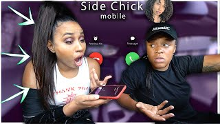 Changed my GIRLS name to *SIDE CHICK* in my PHONE & THIS HAPPENED | EZEE X NATALIE