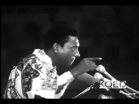 Clips of Kwame Ture Stokely Carmichael and H Rap Brown Speaking At The Free Huey Rally 1968