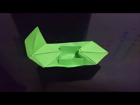 How to make a stylish paper  speed boat, origami