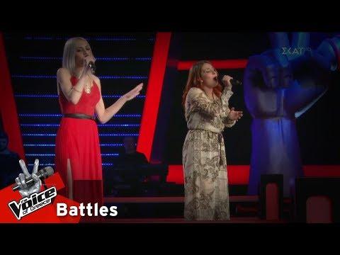 Αλκμήνη Ορφανού vs Φωτεινή Τότλη - Let it Go | 4o Battle | The Voice of Greece