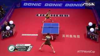 Jun Mizutani - Dimitrij Ovtcharov Men's World Cup 2015