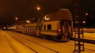 VR-Yhtymä Intercity-juna Helsingin päärautatieasema