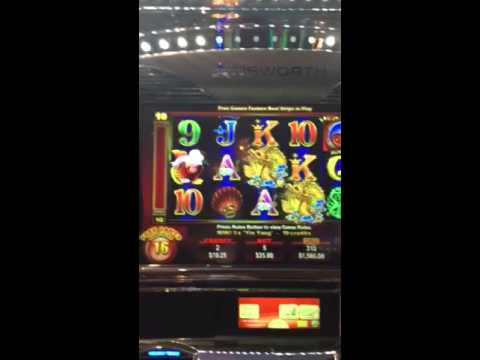 $GRAND DRAGON$ Parx Casino! High Roller Room! INSANE Amount of FREE GAMES!