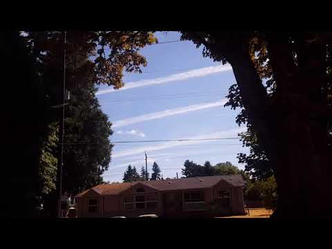 Chemical aerosols sprayed daily to manipulate the weather and make us sick
