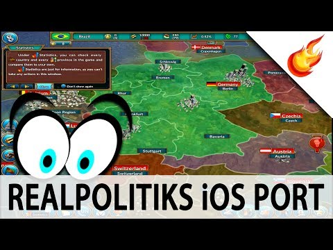 REALPOLITIKS iOS Port - First Gameplay & Impressions