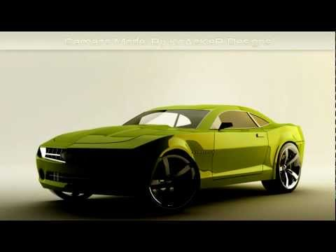 Free Cinema 4d Camaro Model