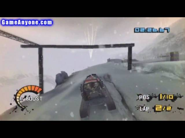Motorstorm: Arctic Edge - PS2 - 123 - Bad Altitude Race 4 of 4