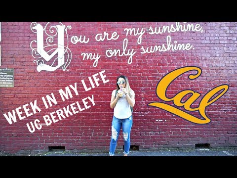 WEEK IN MY LIFE || UC BERKELEY
