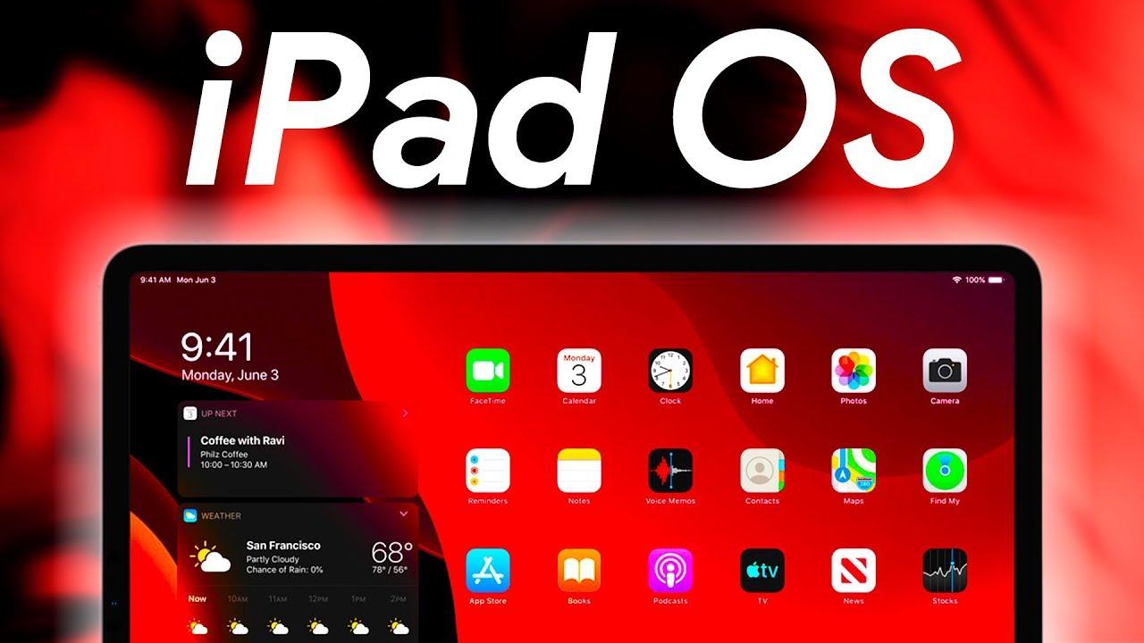 iPad OS! ASÍ es el NUEVO SISTEMA OPERATIVO de APPLE! - YouTube
