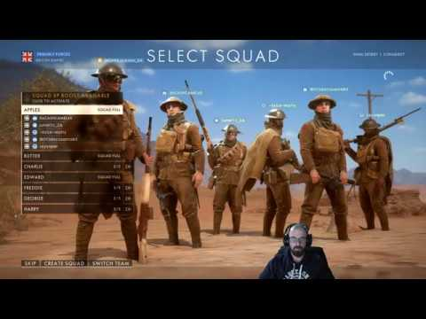 Battlefield 1 - Let's play Conquer on South African servers