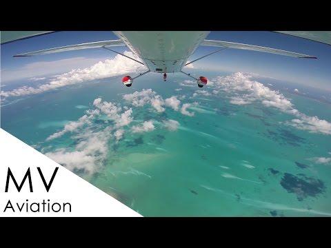 Cessna 182 live ATC - IFR Florida to Treasure Cay Bahamas