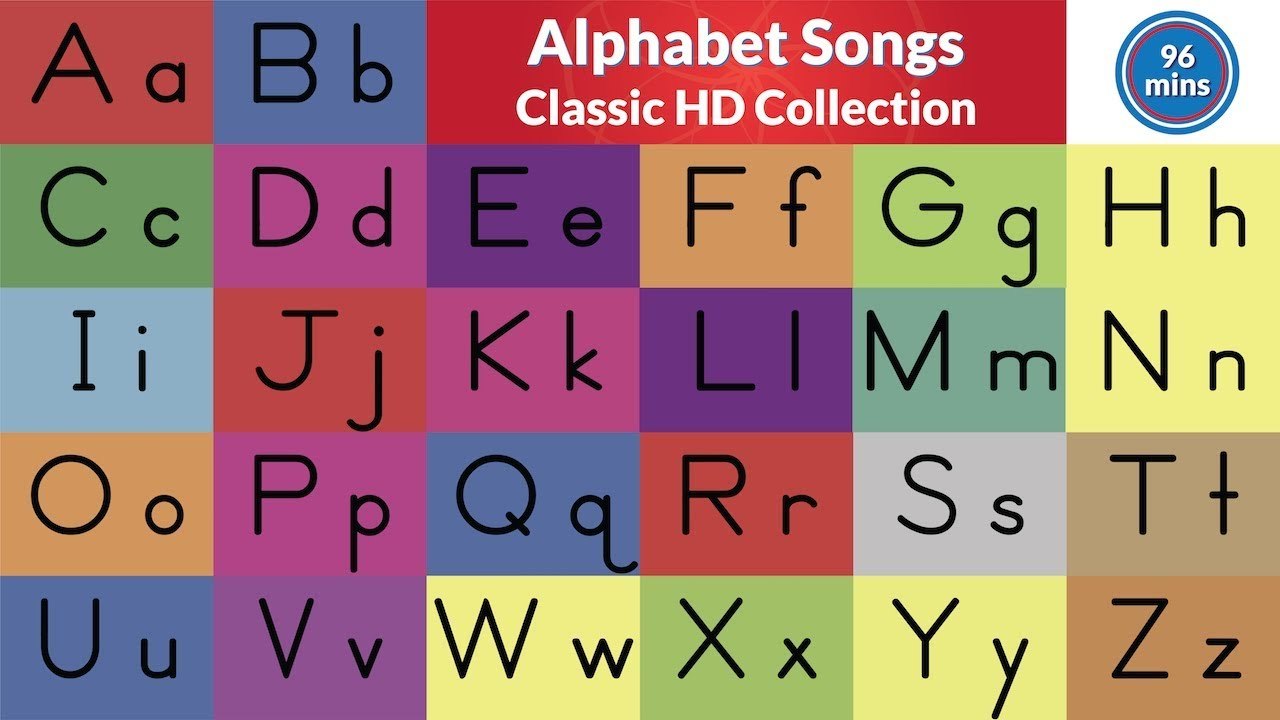 alphabet songs classic hd abc song collection youtube