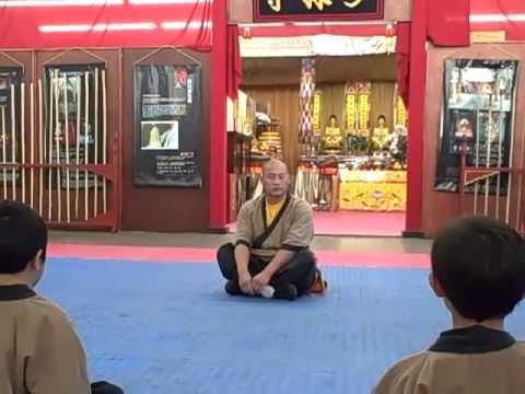 Master Shi Yan Xu and Disciples Shaolin Temple Cultural Center USA