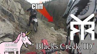 Video Blacks Creek, Idaho - Riding Willow Creek on Dirtbikes download MP3, 3GP, MP4, WEBM, AVI, FLV Mei 2018