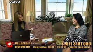 Jutarnji program gostovanje dr Radmila Sehic Tv Duga Plus 2016