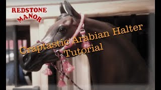 The Craptastic Arabian Halter Tutorial