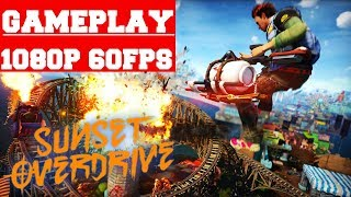 Sunset Overdrive Gameplay (PC)