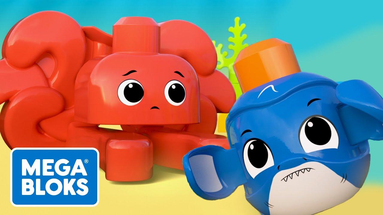 MEGA BLOKS™ | Accidente submarino | NUEVO! | Dibujos animados | Fisher-Price® España