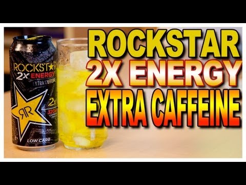 NEW! Rockstar 2x Energy Taste test
