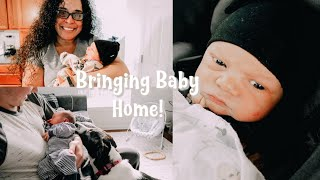 Bringing Baby Home, My Mom Meeting Him For The First Time, + Updates!