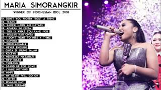 MARIA SIMORANGKIR - LIST LAGU INDONESIAN IDOL 2018