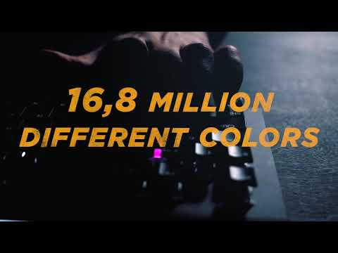 DON ONE - MK500 RGB Mekanisk Gaming Keyboard