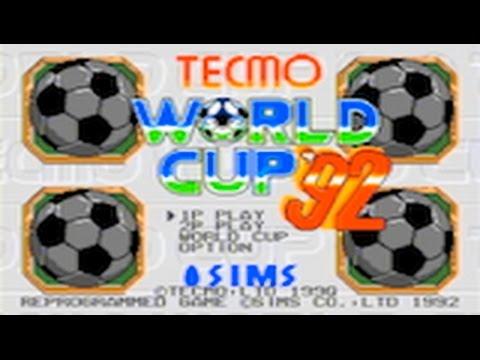 Tecmo World Cup '92 (SEGA Mega Drive)
