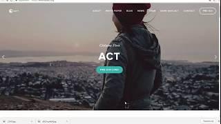 ACT - Социальная платформа для помощи людям.