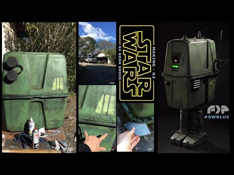 G3 Droid Costume from Star Wars BLUE
