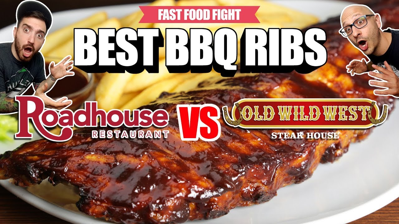 FAST FOOD FIGHT s02e05 | ROADHOUSE vs OLD WILD WEST | BEST BBQ RIBS