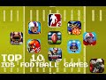 Top 10 Free iOS iPhone/iPad FOOTBALL Games!