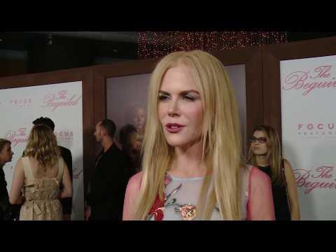 """The Beguiled"" Nicole Kidman, Kirsten Dunst, Elle Fanning interview - Red Carpet Premiere"