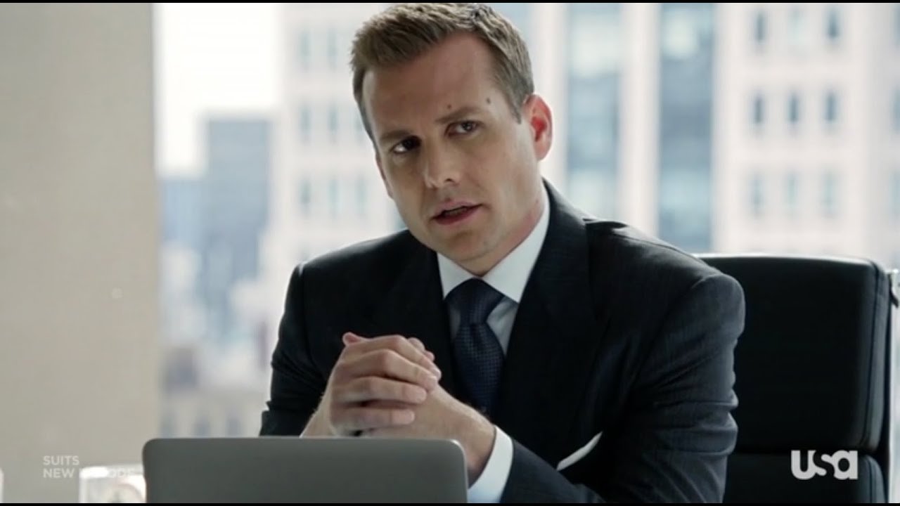 Suits: Harvey Specter Punishing Mike Ross For Being Late