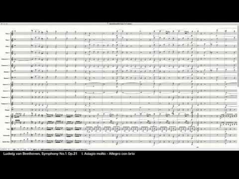 Beethoven Symphony No.1 Op.21 - Programed in Finale 2014 by pkmtKuma