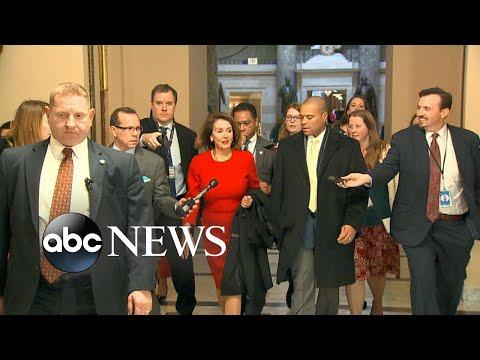 Nancy Pelosi cancels Trump's address to Congress in letter Mp3