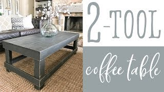 2 Tool Coffee Table