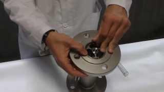 Como cambiar el muelle de un caudalímetro modelo SC250H