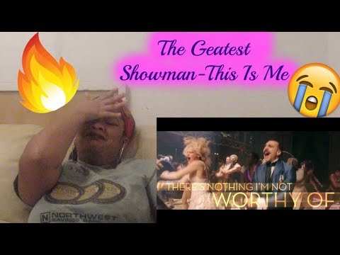 The Greatest Showman- This Is Me Amazing Vocals