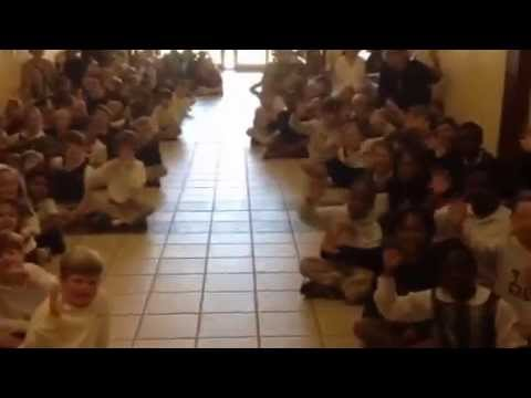 StormTracker 12 Visits Holy Cross Episcopal School