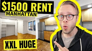 THIS $1500 NYC Apartment is the Best Deal in Manhattan New York!