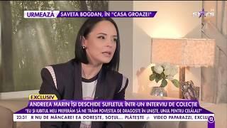 """Andreea Marin: """"Îmi doresc să devin din nou mămică"""""""