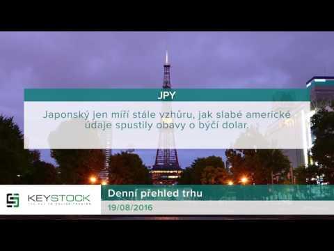 KeyStock Daily Review 19.08.2016 Czech