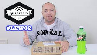 Quarterly Subscription #LEW02 LIVE UNBOXING! Unbox Therapy Lewis Hilsenteger thumbnail