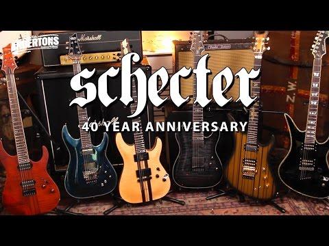 Schecter Guitars 40th Anniversary Competition - Mega Prize!!
