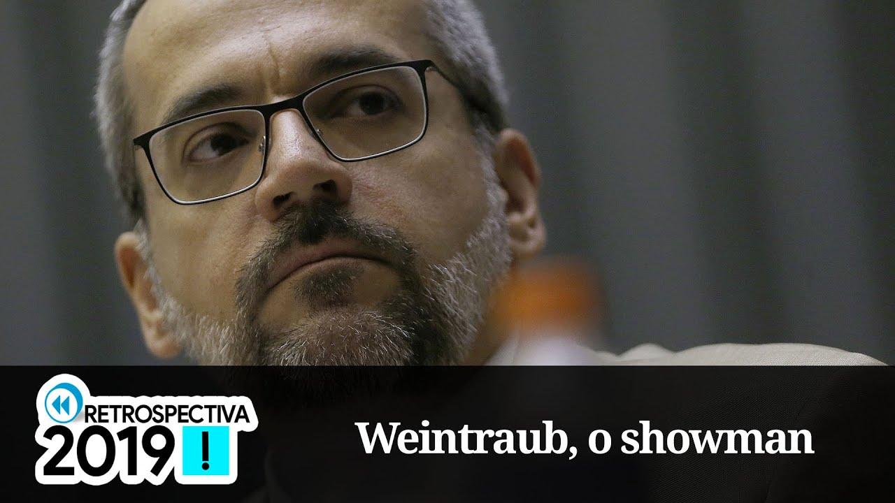 Resultado de imagem para Retrospectiva 2019 | Abraham Weintraub, o ministro showman
