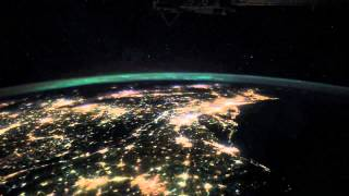 Over Earth: East Coast Light Show From Space Thumbnail
