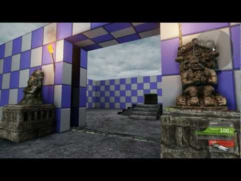Hidden Temple: UDK non-linear gameplay