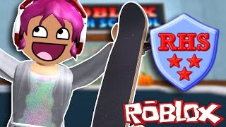 Going To Roblox High School!